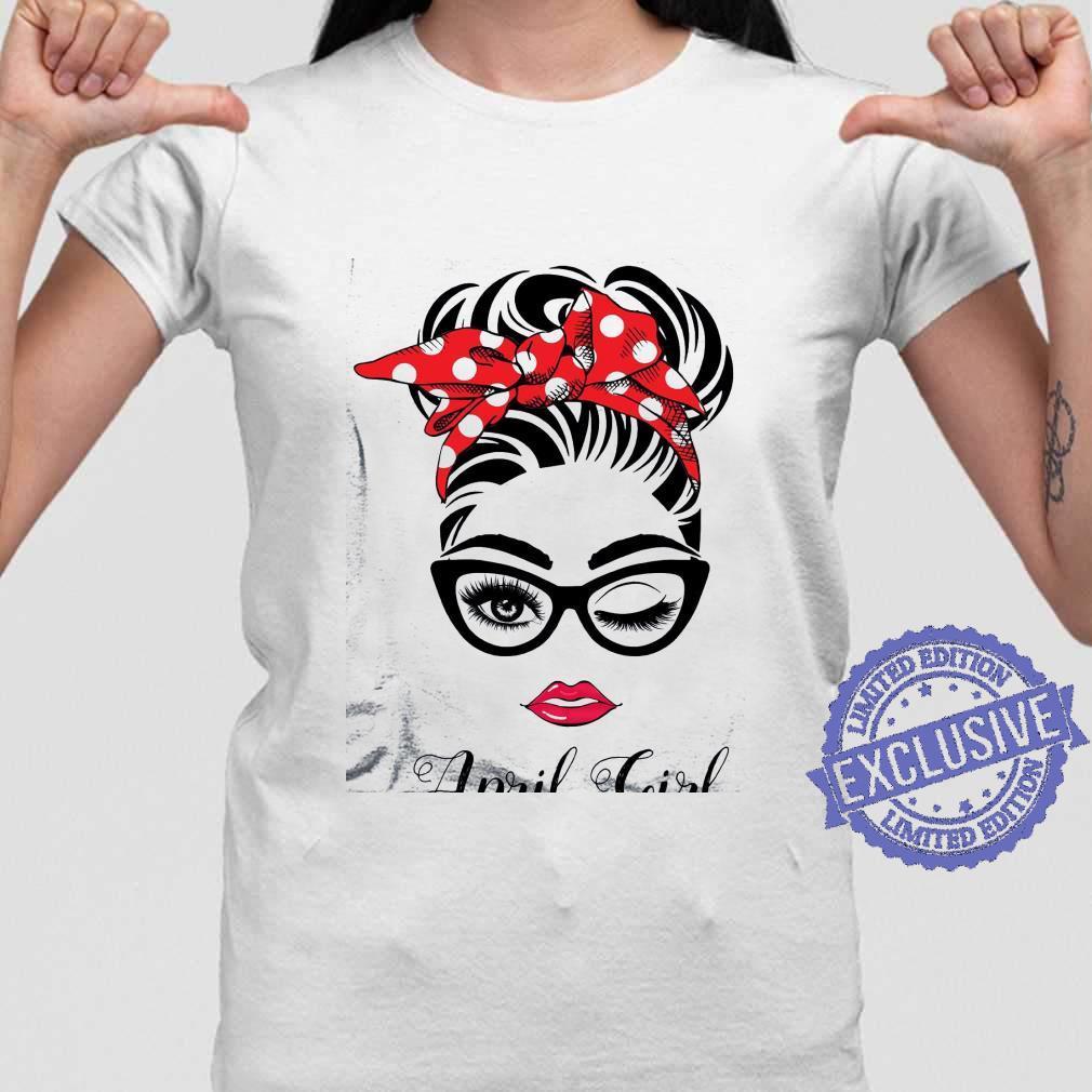 April girl shirt ladies tee