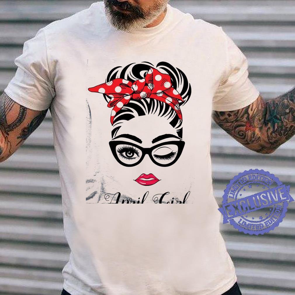 April girl shirt long sleeved