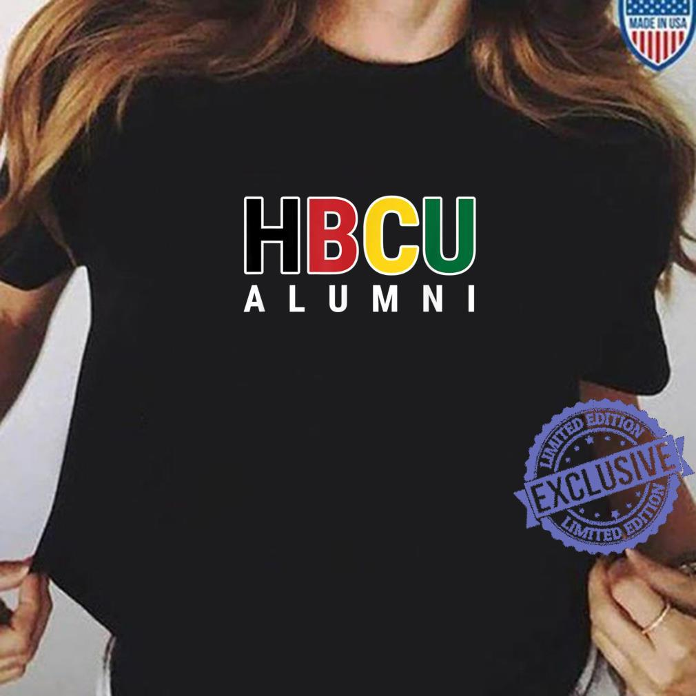 HBCU Alumni Historically Black College Student Graduate Shirt ladies tee