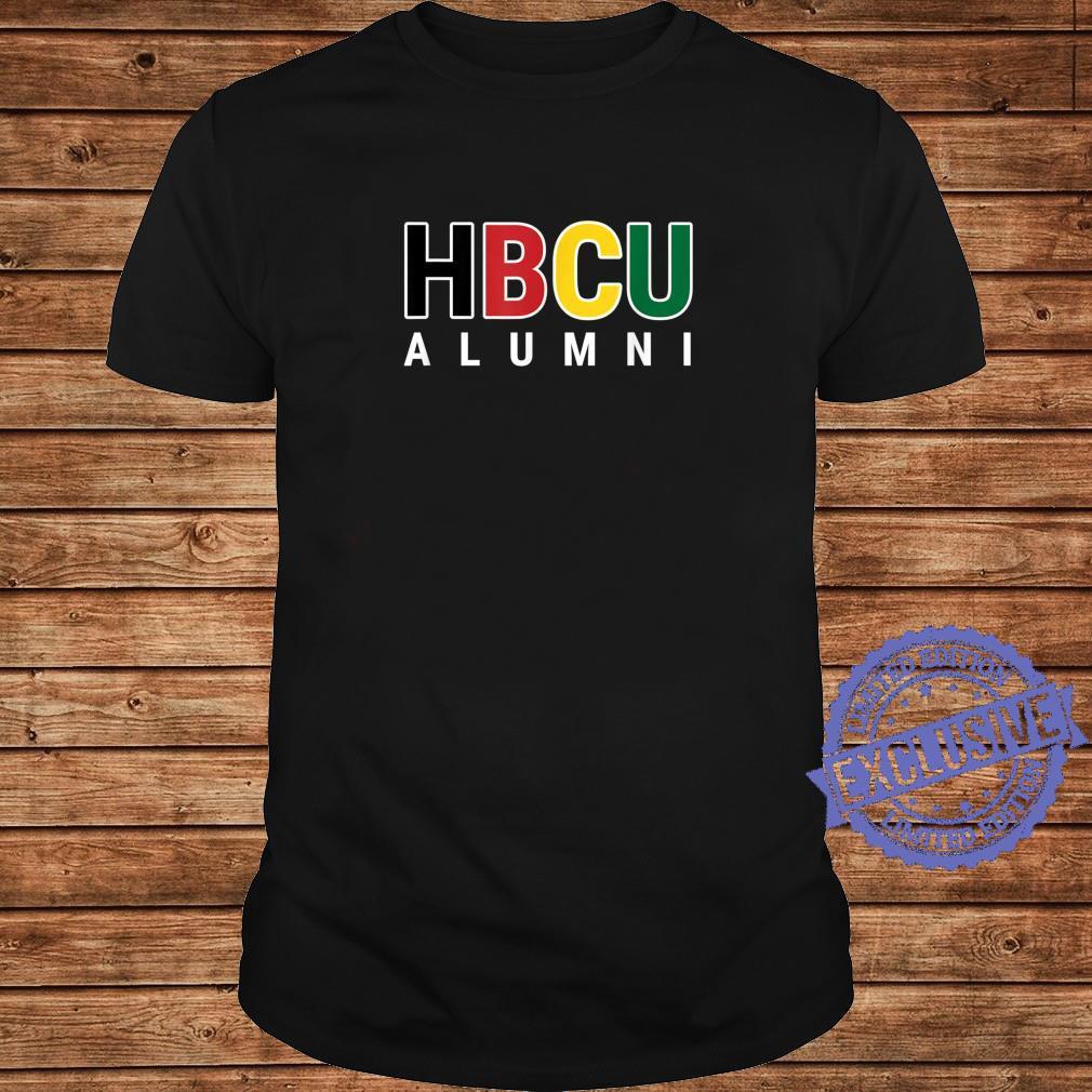 HBCU Alumni Historically Black College Student Graduate Shirt long sleeved