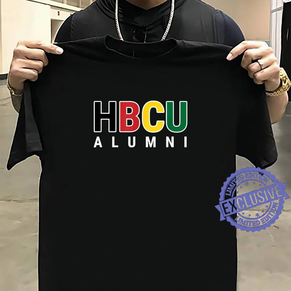 HBCU Alumni Historically Black College Student Graduate Shirt sweater