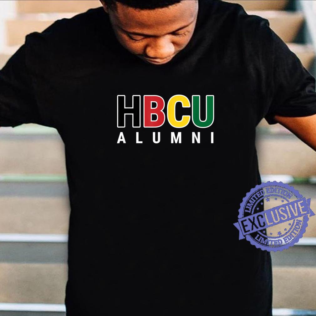 HBCU Alumni Historically Black College Student Graduate Shirt