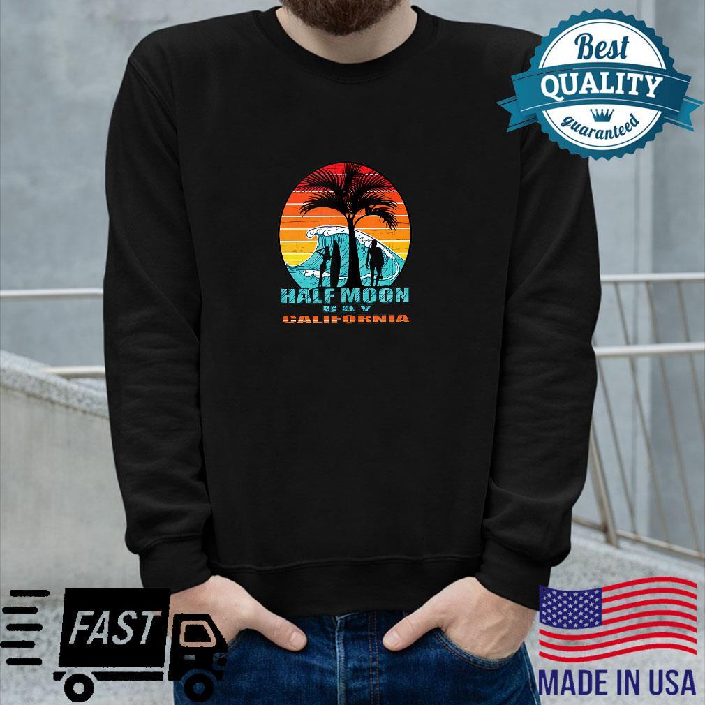Half Moon Bay California Shirt long sleeved