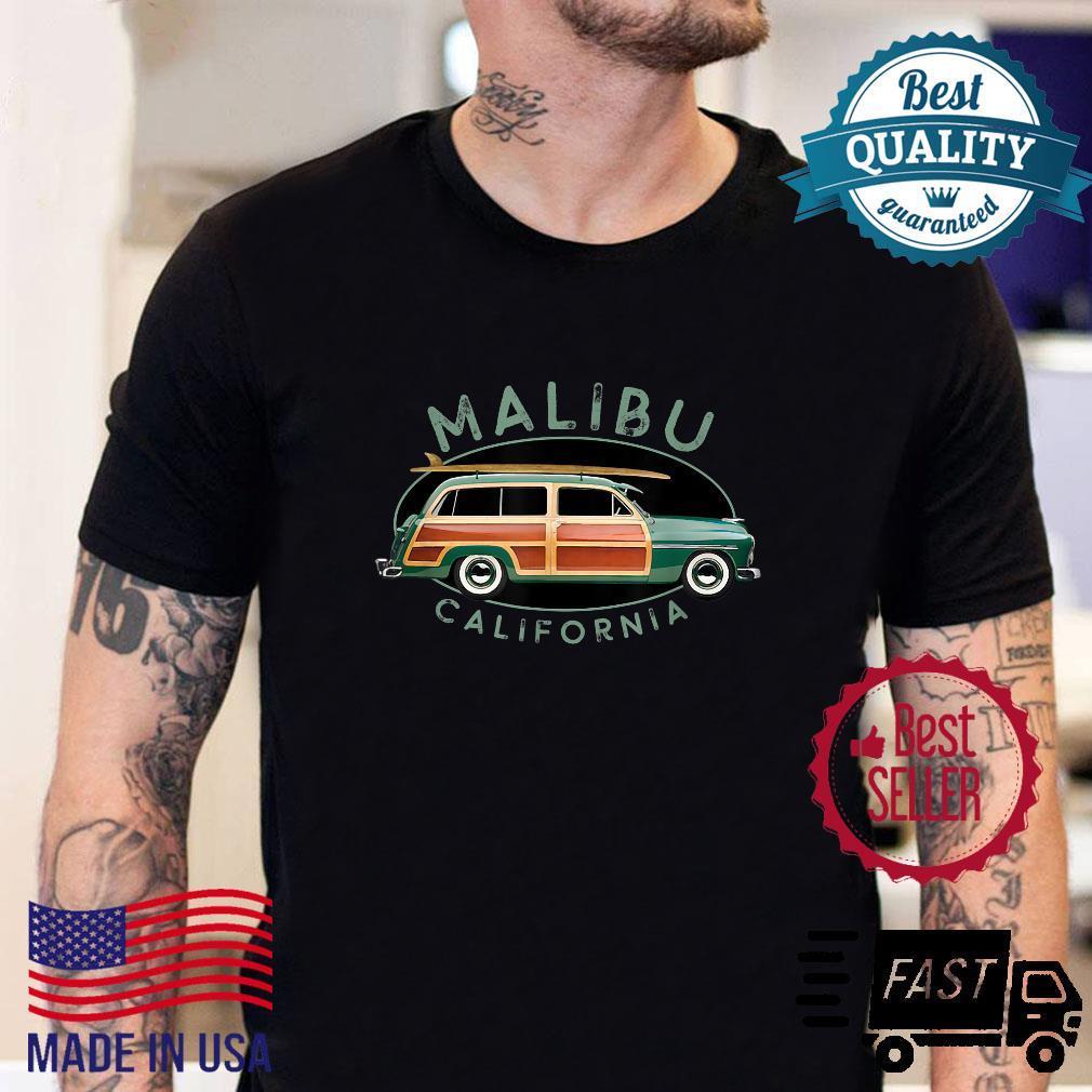 Malibu California Vintage Surfing Design Shirt sweater