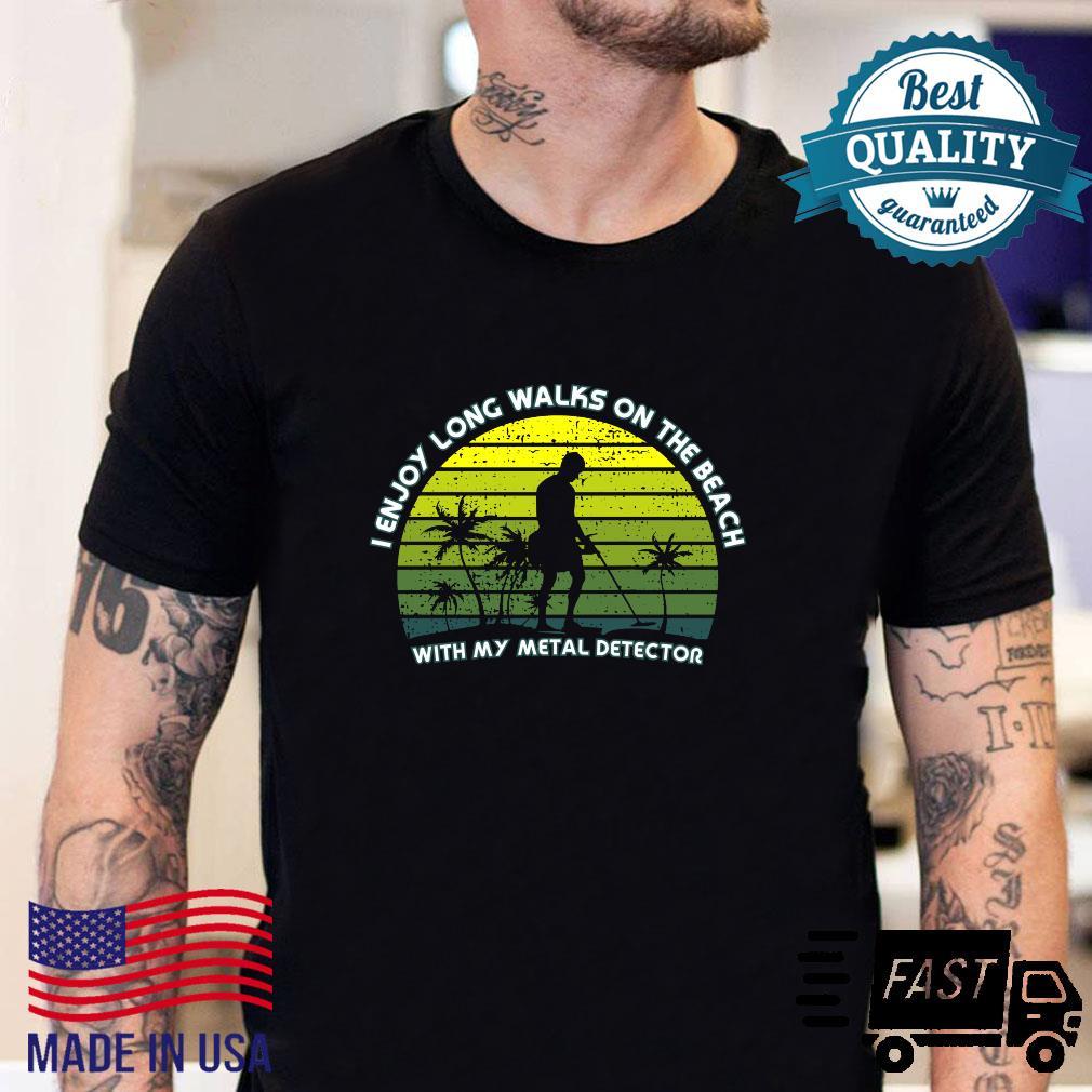 Metal Detecting the beach Shirt sweater