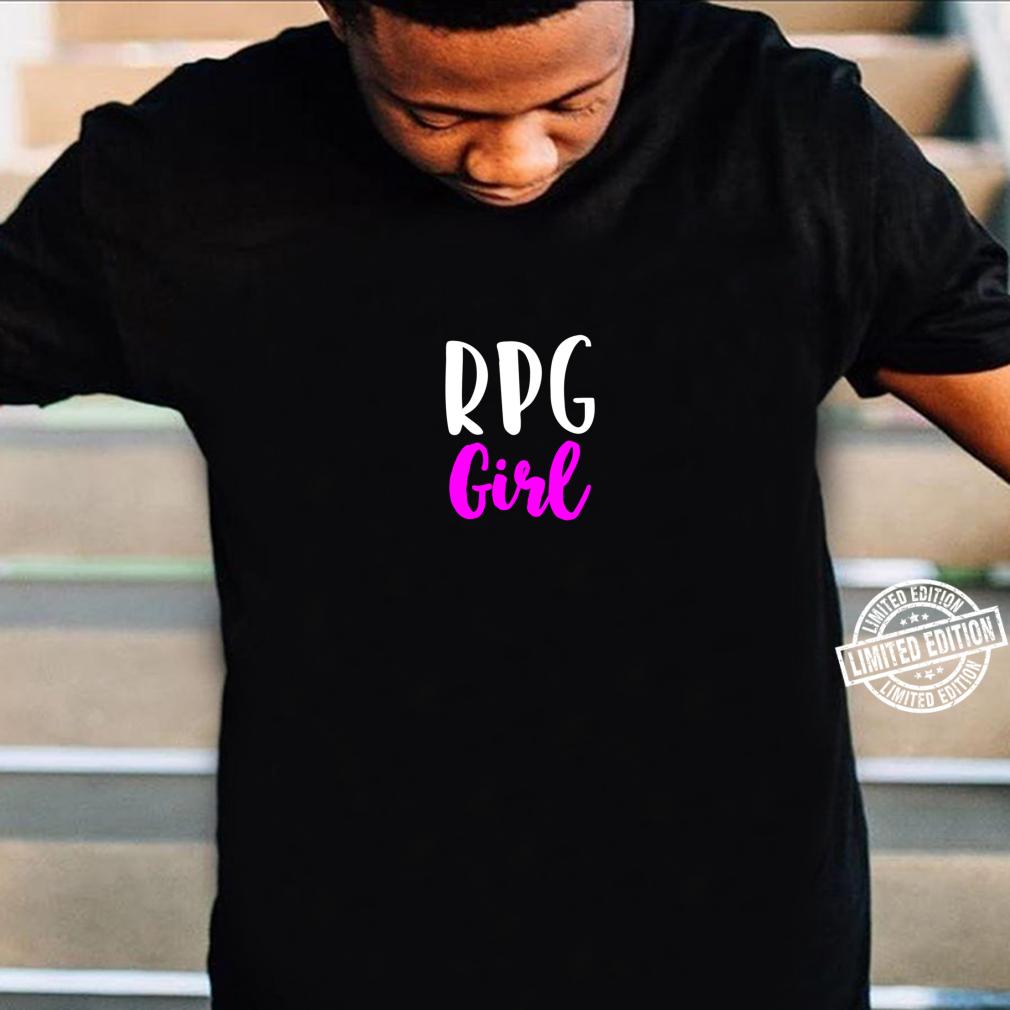 RPG Girl RolePlaying Game Cute Shirt