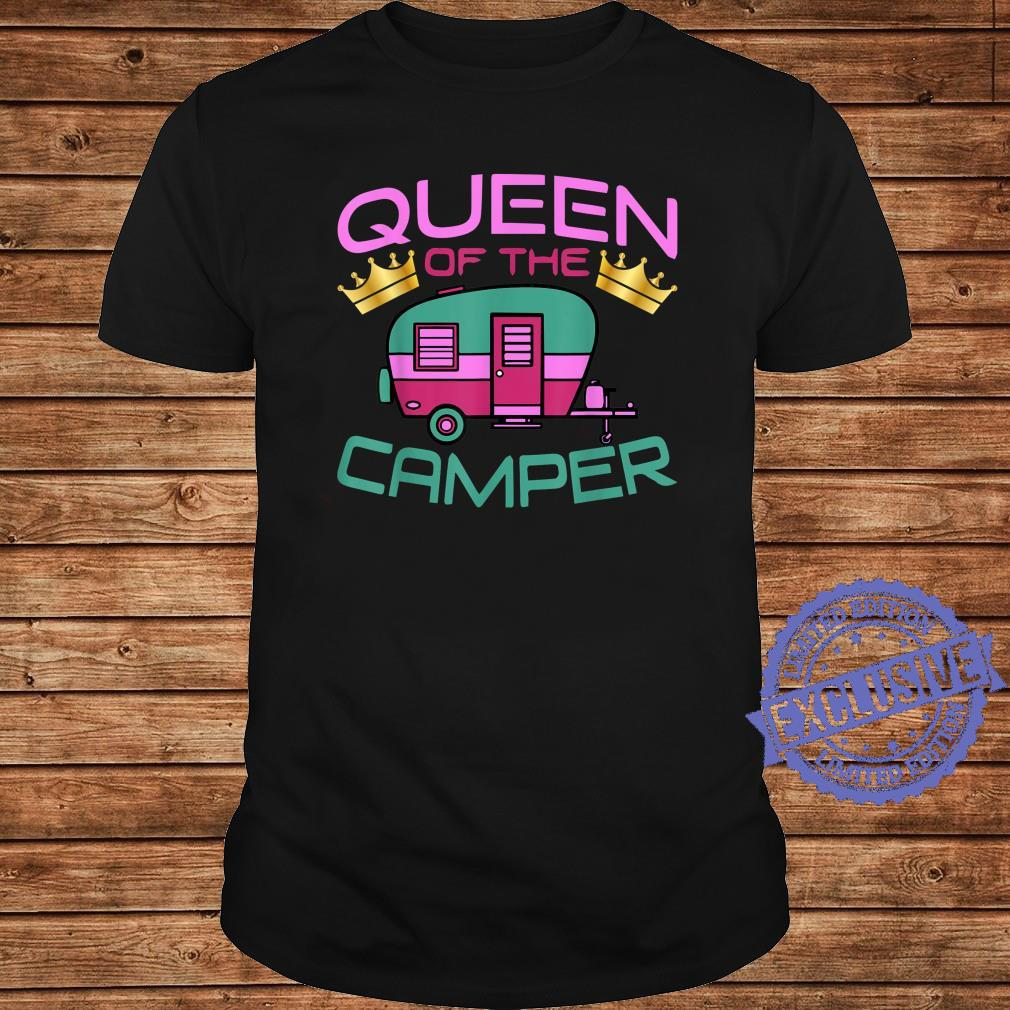 RV Camping Queen Of The Camper Shirt long sleeved