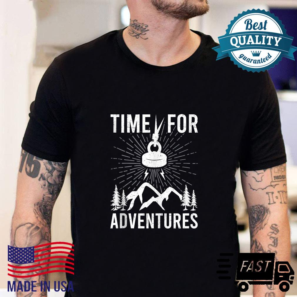 Time For Adventures Magnet Fishings Shirt sweater